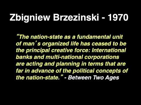 Evidence for Zbigniew Brzeziński's Technotronic Era Shadow Government and Deep State Revealed!